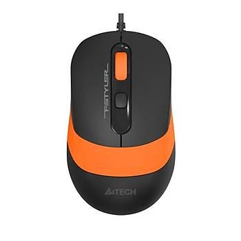 A4 Tech FM10 Mouse / Usb / Turuncu 1600DPI