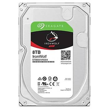 Seagate IRONWOLF 3,5 8TB 256MB 7200 ST8000VN004