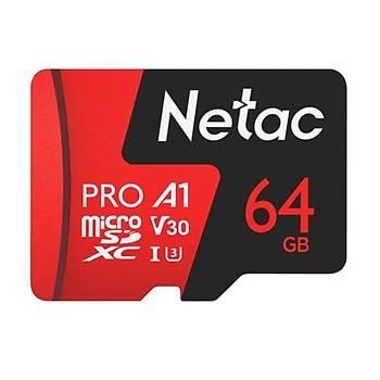 Netac 64GB MicroSDXC V30/A1/C10 NT02P500PRO-064G-R