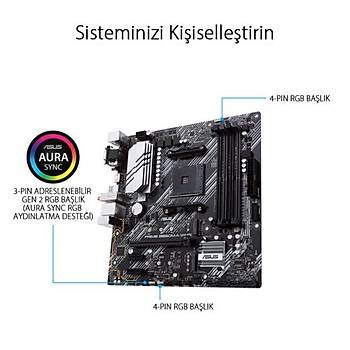 Asus PRIME B550M-A (WI-FI) DDR4 S+V+GL AM4