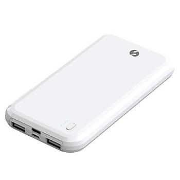 S-link IP-A176 10000mAh Powerbank Beyaz PowerBank
