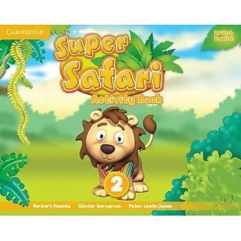 Cambridge Super Safari,2 Activity Book+ Pupil's Book with DVD-ROM