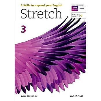 OXFORD STRETCH 3 SB +ONLINE PRAC.+WB