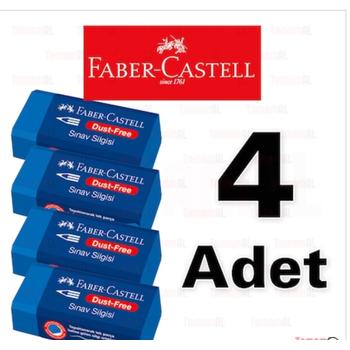FABER CASTELL SINAV SÝLGÝSÝ MAVÝ 4 ADET 9556089005258