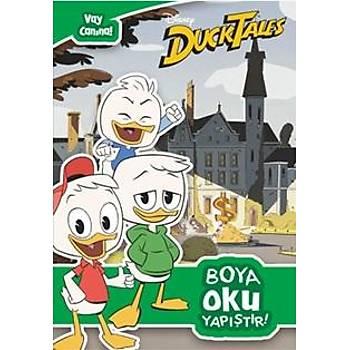 Disney Duck Tales Vay Canýna Boya Oku Yapýþtýr