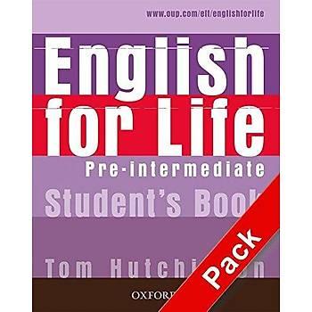 OXFORD ENGLISH FOR LIFE PRE-INT SB +M-ROM+WB