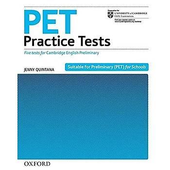 OXFORD PET PRACTICE TESTS   (NEW)