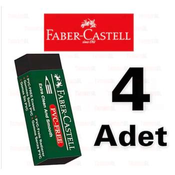 FABER CASTELL SÝYAH BÜYÜK SÝLGÝ 4 ADET 9556089889216