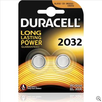 Duracell CR2032 Lithium 3V Pil 2'li