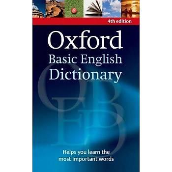 OXFORD BASIC ENGLISH DICTIONARY 4ED*