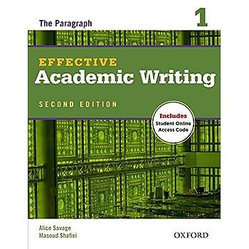 OXFORD EFFECTIVE ACADEMIC WRITING 1 2ED SB +ONLINE
