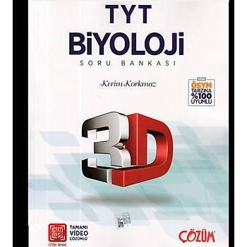 3D TYT Biyoloji Tamamý Video Çözümlü Soru Bankasý Yeni