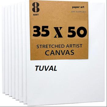 Öðrenci Tuvali 35x50cm Tuval 8'li Paket PAPER ART