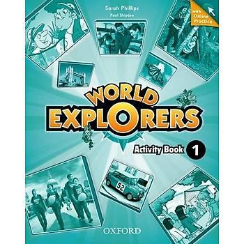 OXFORD WORLD EXPLORERS 1 WB + ONLINE PRAC.