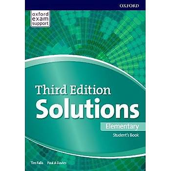 OXFORD SOLUTIONS 3ED ELEMENTARY SB +ONLINE+WB