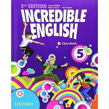 OXFORD INCREDIBLE ENGLISH  5 SB 2ED+WB