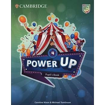 Cambridge Power Up,4 Pupil's Book+ Activity Book with Online