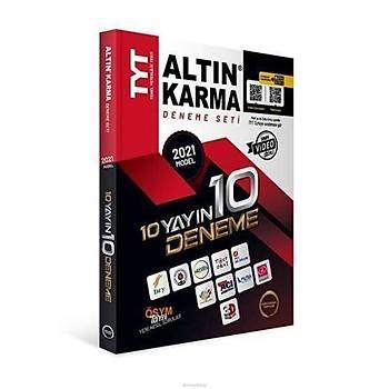 Altýn Karma 2021 TYT 10 Farklý Yayýn 10 Farklý Deneme Yeni