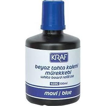 KRAF 450G 100ml. Mavi Tahta Kalem Mürekkebi