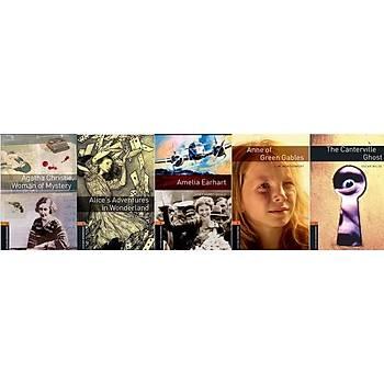 OXFORD Bookworms Level 2 Hikaye set (5 Kitap)