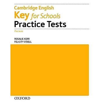 OXFORD KEY FOR SCHOOLS PRAC.TESTS W/O KEY PK