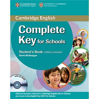 Cambridge Complete Key for Schools Student's Book without answers