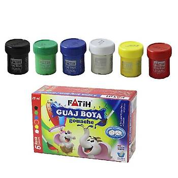 Fatih Guaj Boya 6 Renk (150Gr.) 50410