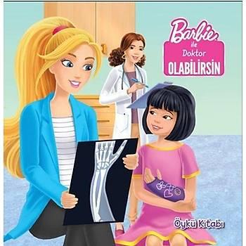 Barbie ile Doktor Olabilirsin Öykü Kitabý