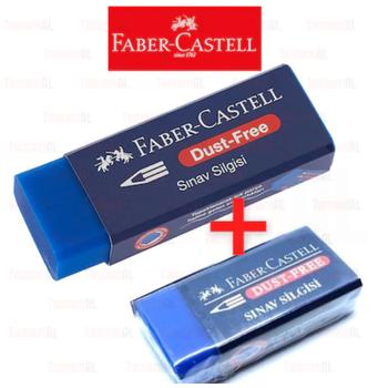 FABER CASTELL 2 ADET SINAV SÝLGÝSÝ (1 küçük + 1 Büyük)