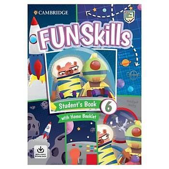 Cambridge Fun Skills Level 6 SB+Home Booklet +Audio 2 KÝTAP
