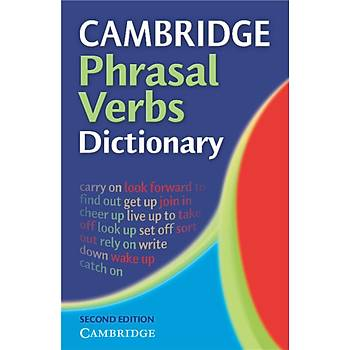 Cambridge Phrasal Verbs Dictionary 2nd Edition Paperback