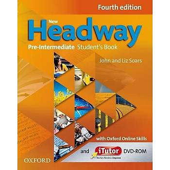 OXFORD NEW HEADWAY PRE-INT 4ED SB +iTUTOR +ONLINE+WB