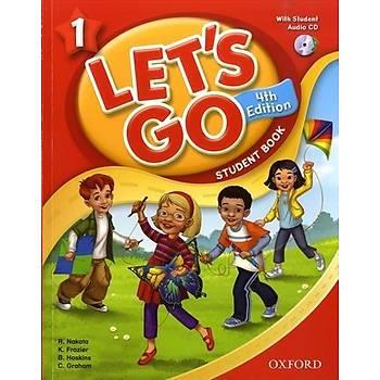 OXFORD LET'S GO 1 SB+CD (4ED) +WB