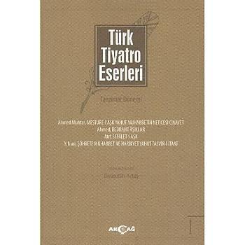 Türk Tiyatro Eserleri 1 Tanzimat Dönemi