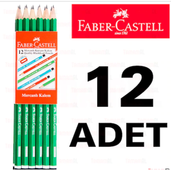 FABER CASTEL MERCANLI KURÞUN KALEM 2160 1 DÜZÝNE 8690826216024