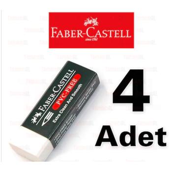 FABER CASTELL BÜYÜK BOY BEYAZ SÝLGÝ 4 ADET