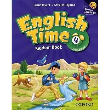 OXFORD ENGLISH TIME 4 SB + CD (2ED)+WB