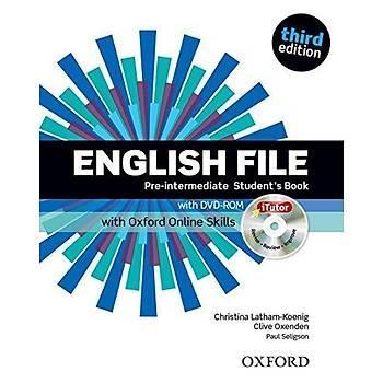 OXFORD ENGLISH FILE 3ED PRE-INTER SB +ÝTUTOR+OOSP+WB