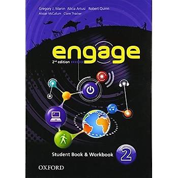 OXFORD ENGAGE 2 SB +WB+M-ROM 2ED