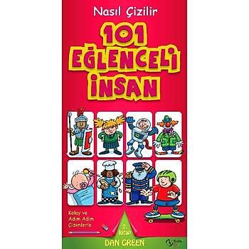 101 Eglenceli Insan  Nasil Çizilir - 2. Kitap