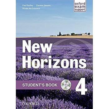 OXFORD NEW HORIZONS 4 SB+CD. +WB