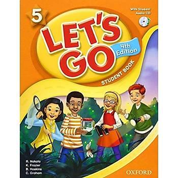 OXFORD LET'S GO 5 SB +CD (4ED) +WB