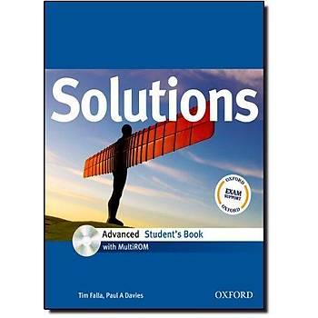 OXFORD SOLUTIONS ADVANCED SB +CD+WB