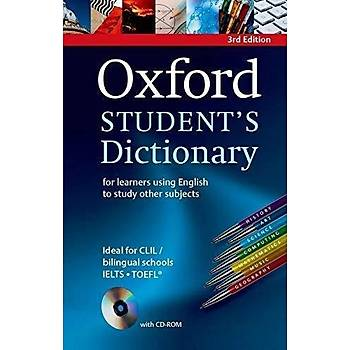 OXFORD STUDENTS DICTIONARY+CD-ROM  (3ED)*