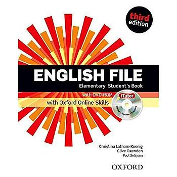 OXFORD ENGLISH FILE 3ED ELEMEN  SB +ÝTUTOR+OOSP+WB