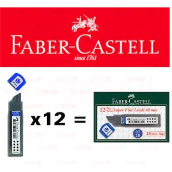 FABER CASTELL 20 LÝ MÝN 60MM 0,7 KALEM UCU 12 adet 8690826127931