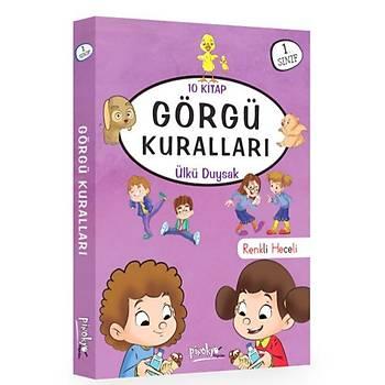 1. Sýnýf Görgü Kurallarý Serisi 10 Kitaplýk Set
