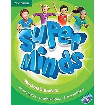 Cambridge Super Minds,2 Student's Book with DVD-ROM+ Workbook