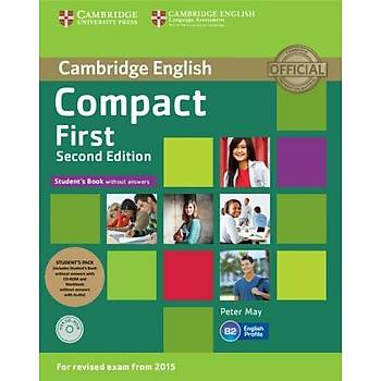 Cambridge Compact First Second edition Student's Pack