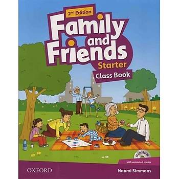 OXFORD FAMILY AND FRIENDS STARTER SB 2ED +WB
